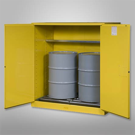 Drum-Cabinets-for-Flammables