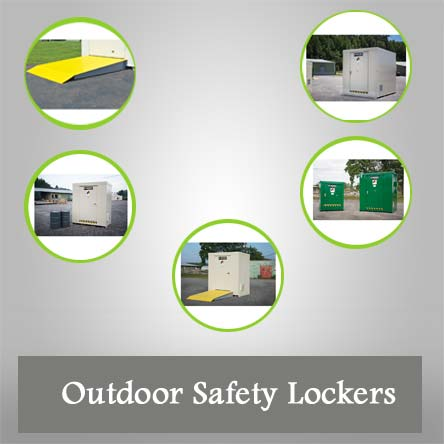 Outdoor Safety Lockers